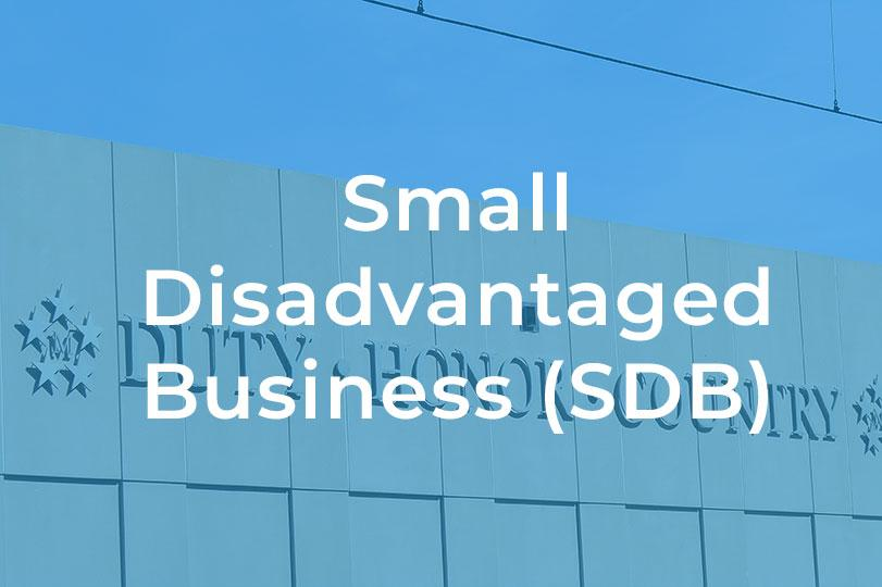 Small Disadvantaged Business (SDB)